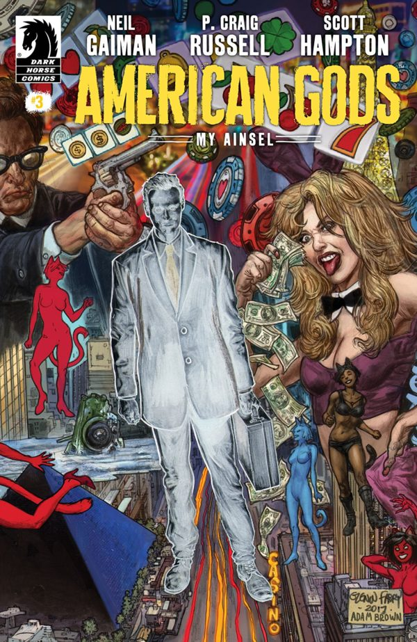 American Gods: My Ainsel #3 cover by Glen Fabry and Adam Brown