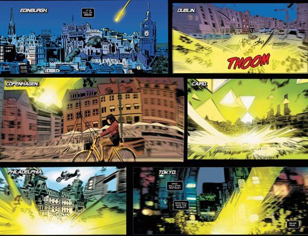 Astonishing X-Men #11 art by Ron Garney and Matt Milla