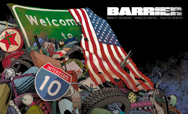 Barrier #3 cover by Marcos Martin and Muntsa Vicente