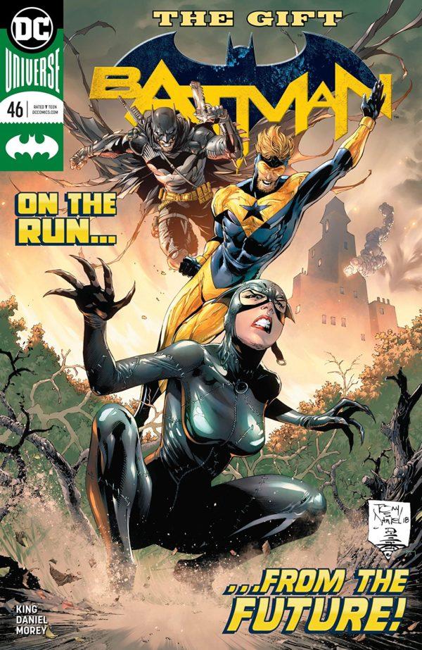 Batman #46 cover by Tony S. Daniel, Danny Miki, and Tomeu Morey