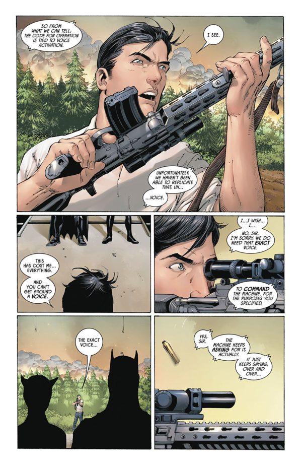 Batman #47 art by Tony S. Daniel, Danny Miki, Sandu Florea, and Tomeu Morey