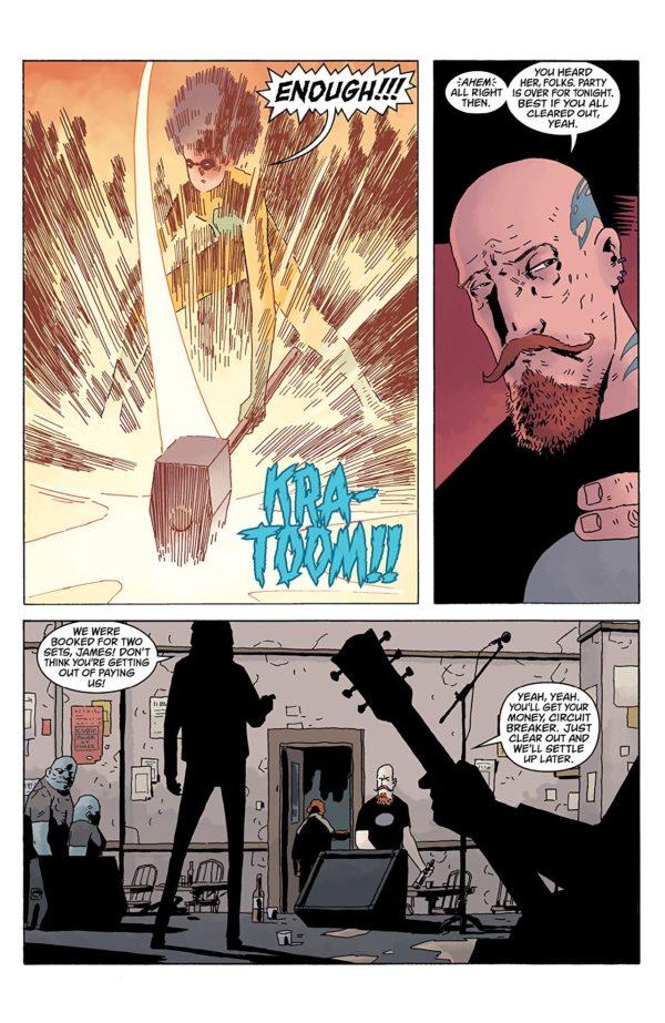 Black Hammer: Age of Doom #2 art by Dean Ormston and Dave Stewart