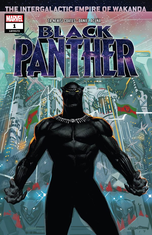 Black Panther #1 cover by Daniel Acuna