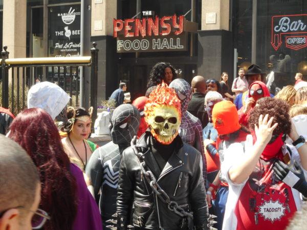 big apple comic con cosplay ghost rider