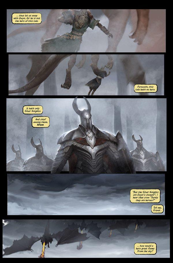 Dark Souls: Age of Fire #1 art by Anton Kokarev