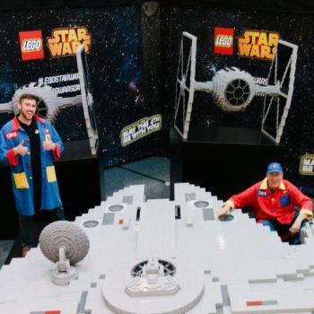 millennium falcon master builders lego