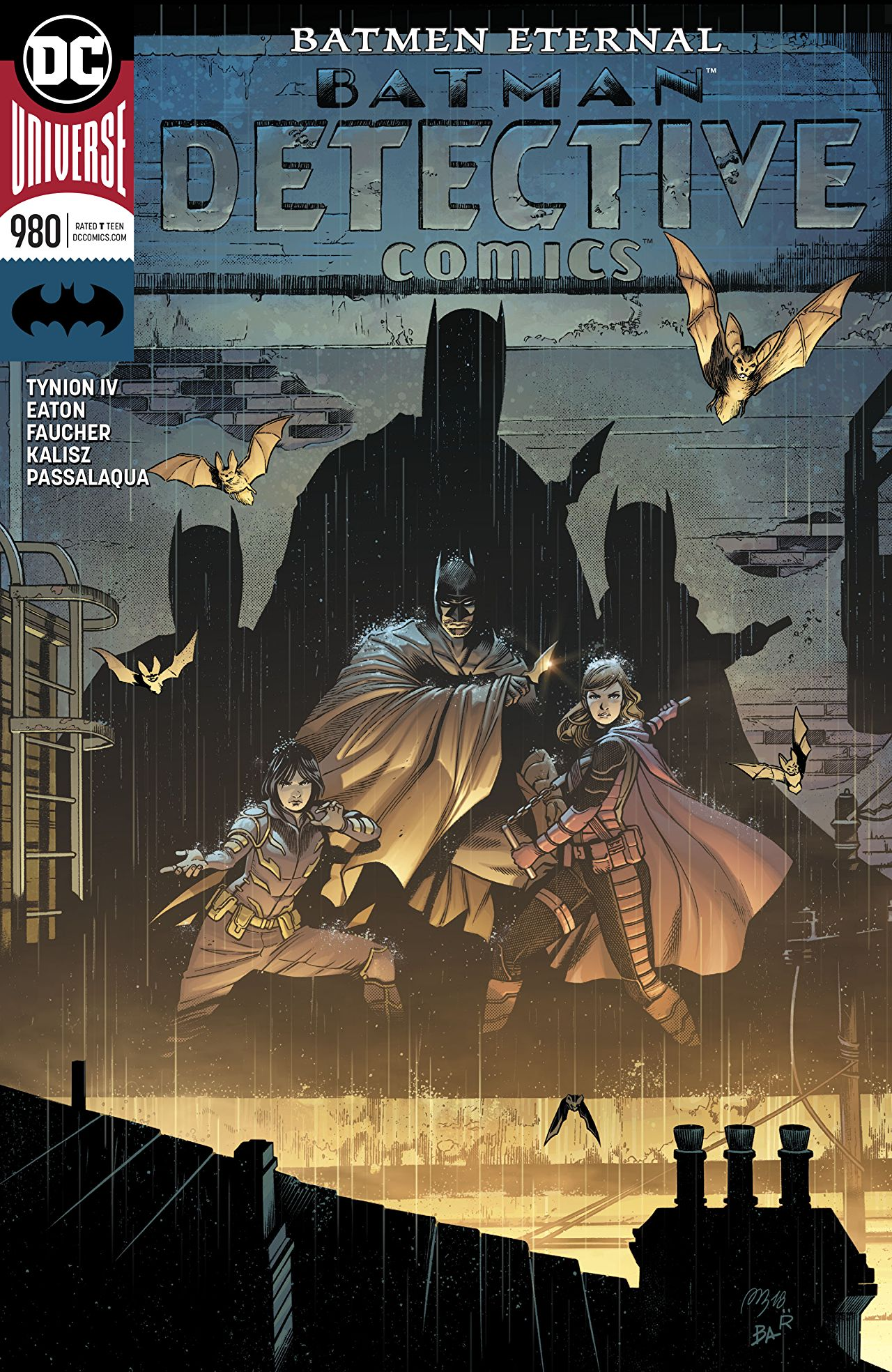 Batman: Detective Comics #980 cover by Alvaro Martinez, Raul Fernandez, and Brad Anderson