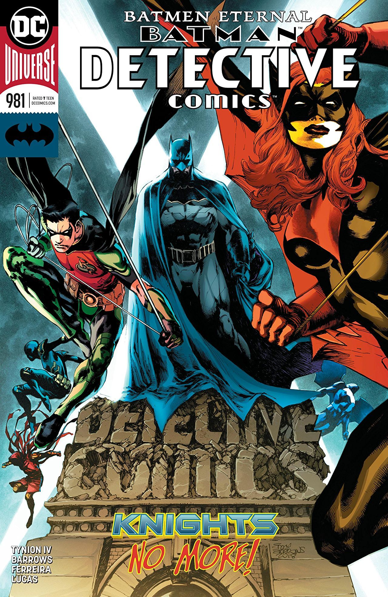 Batman: Detective Comics #981 cover by Eddy Barrows, Eber Ferreira, and Adriano Lucas