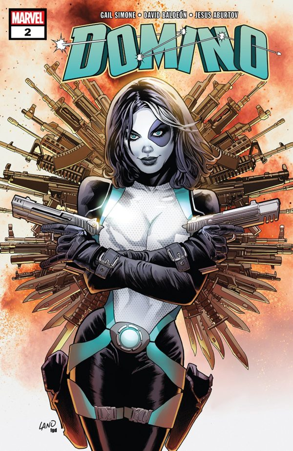 Domino #2 cover by Greg Land