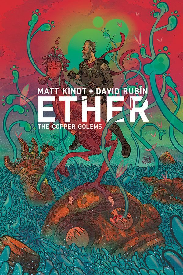 Ether: The Copper Golems #1 cover by David Rubin