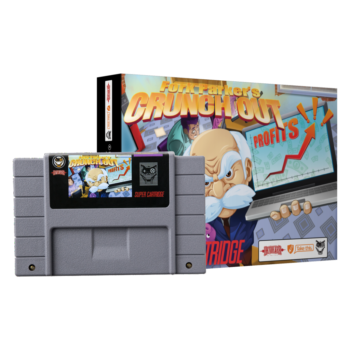 Fork Parkers Crunch Out is Finally Being Released on SNES
