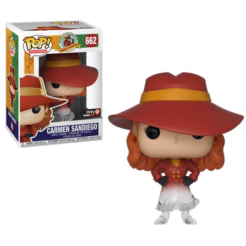 Funko Carmen Sandiego Gamestop Pop
