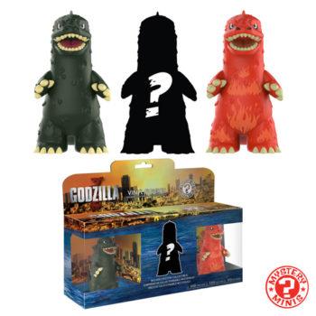 Funko Godzilla Mystery Minis Three Pack