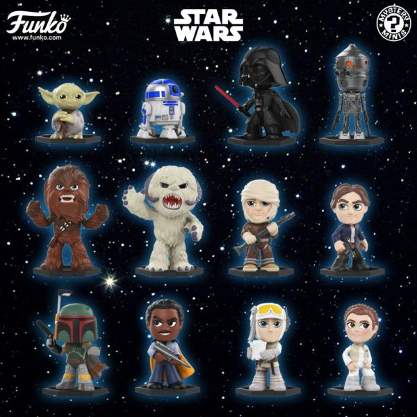 Star Wars Empire Strikes Back Mystery Minis Coming from Funko!