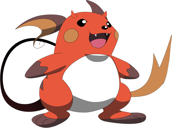 pikachu has a scrapped evolution called gorochu that sounds terrifying