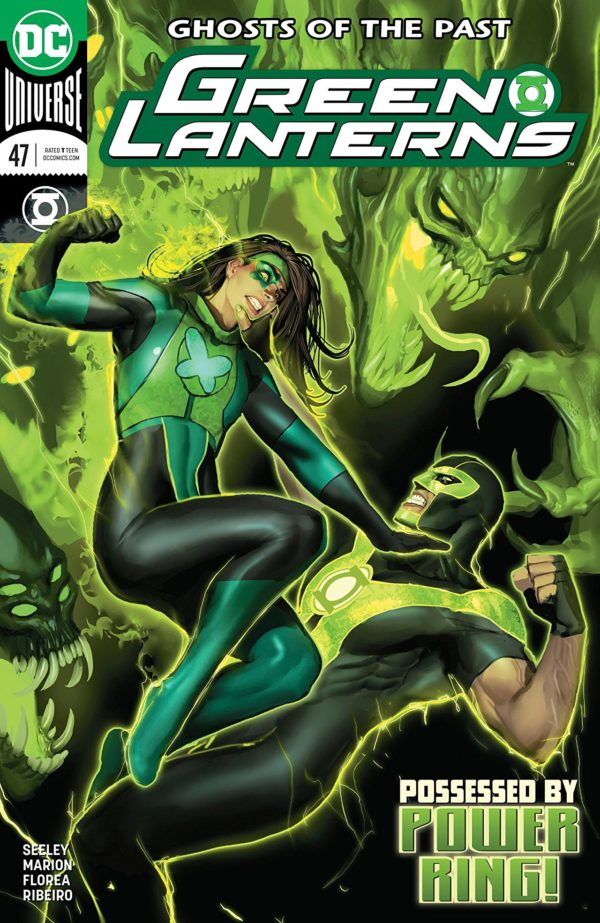 Green Lanterns #47 cover by Will Conrad and Ivan Nunes