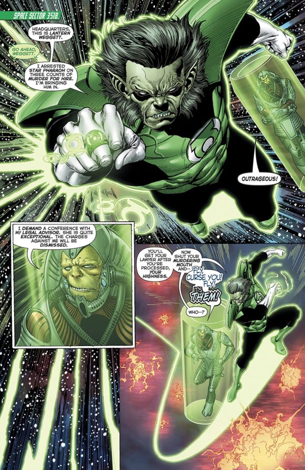 Hal Jordan and the Green Lantern Corps #45 art by Ethan van Sciver and Jason Wright