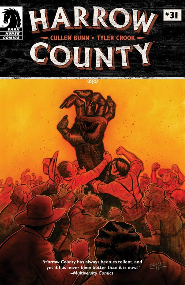 Harrow County #31 cover by Tyler Crook