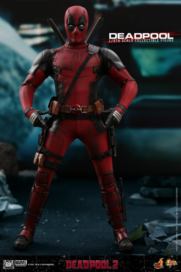 Hot Toys Deadpool 2 Deadpool 9