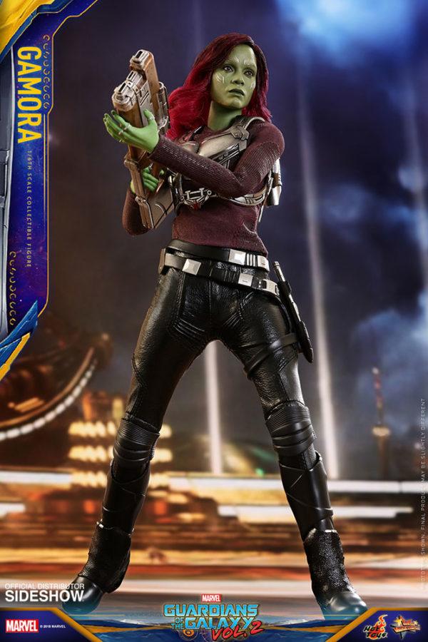 Hot Toys Guardians Vol. 2 Gamora 3