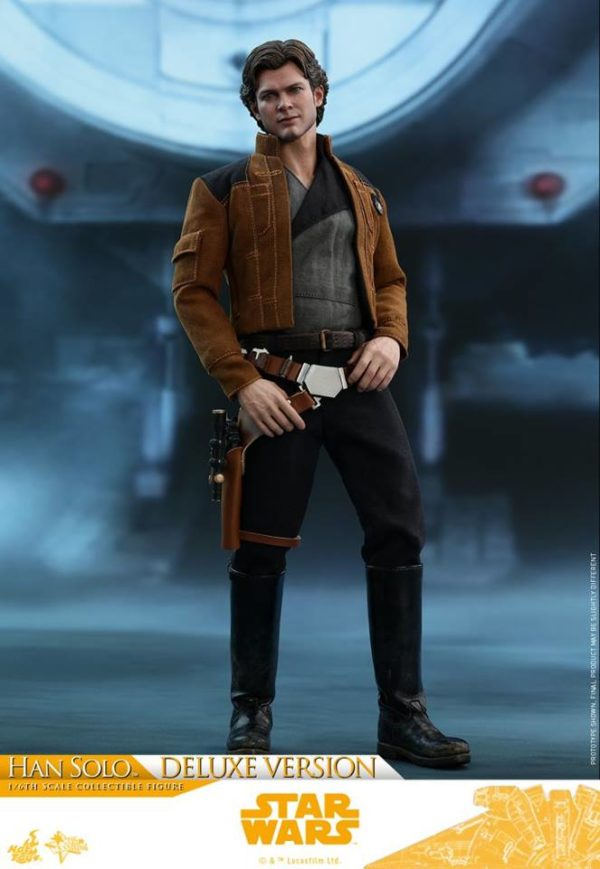 Hot Toys Han Solo Deluxe 6