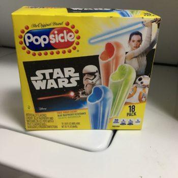 Star Wars Popsicles