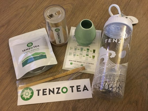 tenzo tea green tea