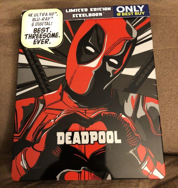 Deadpool Best Buy Exclusive Blu Ray Steelbook 1