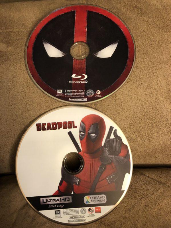 Deadpool Best Buy Exclusive Blu Ray Steelbook 3