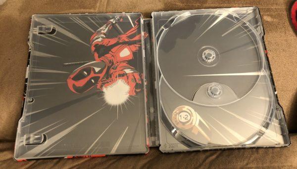 Deadpool Best Buy Exclusive Blu Ray Steelbook 4