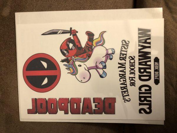 Deadpool Best Buy Exclusive Blu Ray Steelbook 6