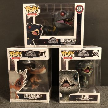 Funko Jurassic World Fallen Kingdom Pops 1