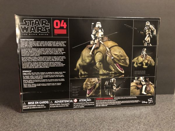 Star Wars Black Series Dewback and Sandtrooper 2