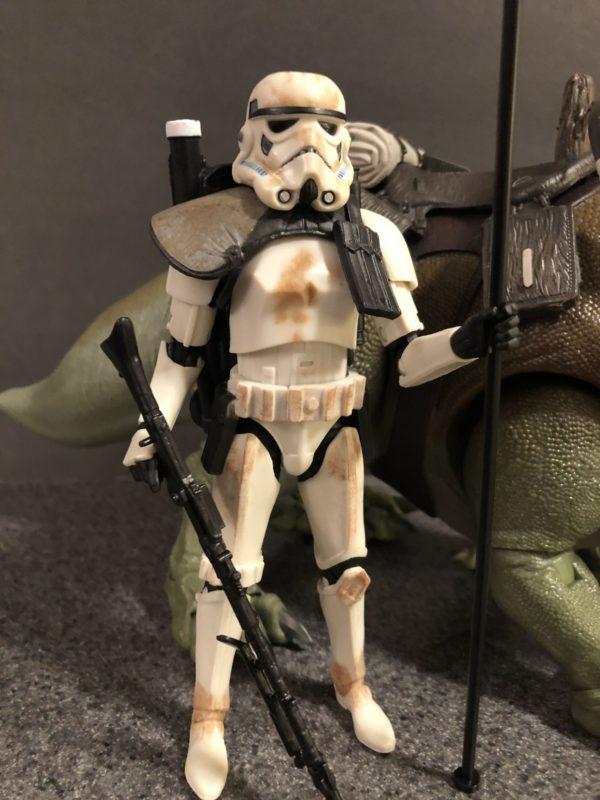Star Wars Black Series Dewback and Sandtrooper 4