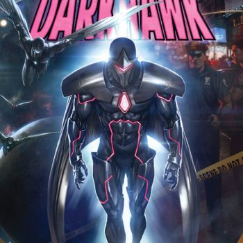 Infinity Countdown: Darkhawk #1 cover by Skan