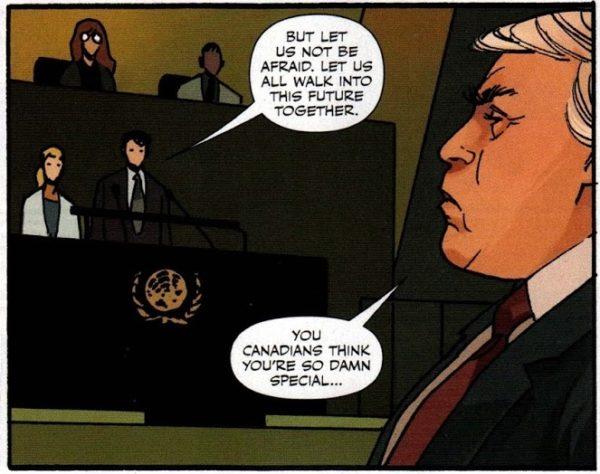justin trudeau donald trump invasion comic