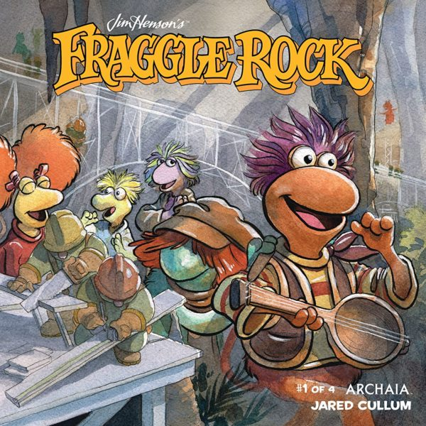 Jim Henson's Fraggle Rock #1 cover by Jared Cullum