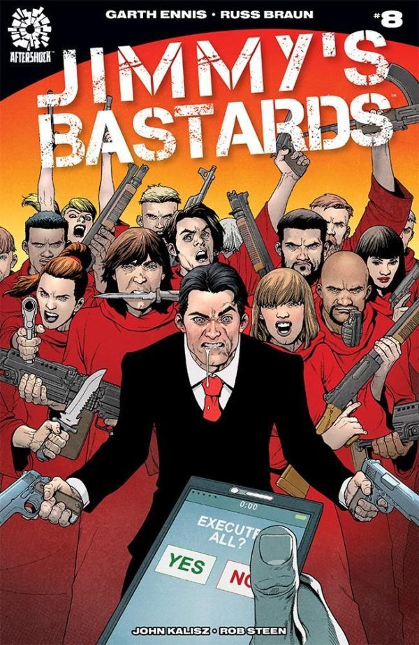 Jimmy's Bastards #8 cover by Andy Clarke