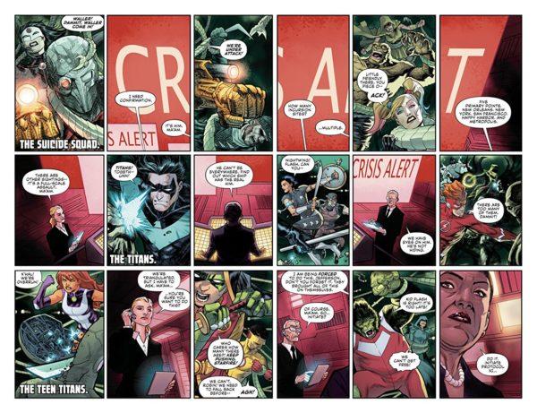 Justice League: No Justice #1 art by Francis Manapul and Hi-Fi