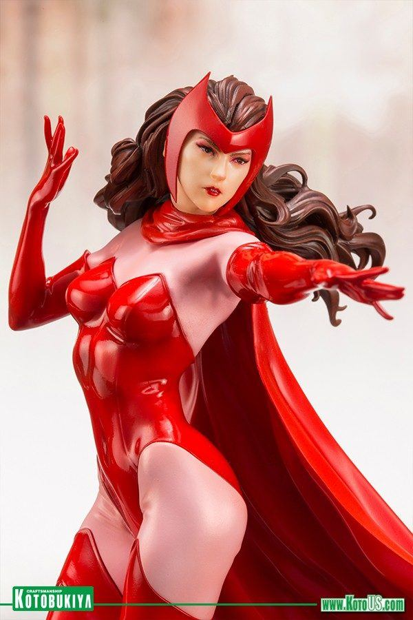 Kotobukiya Avengers Scarlet Witch Statue 3