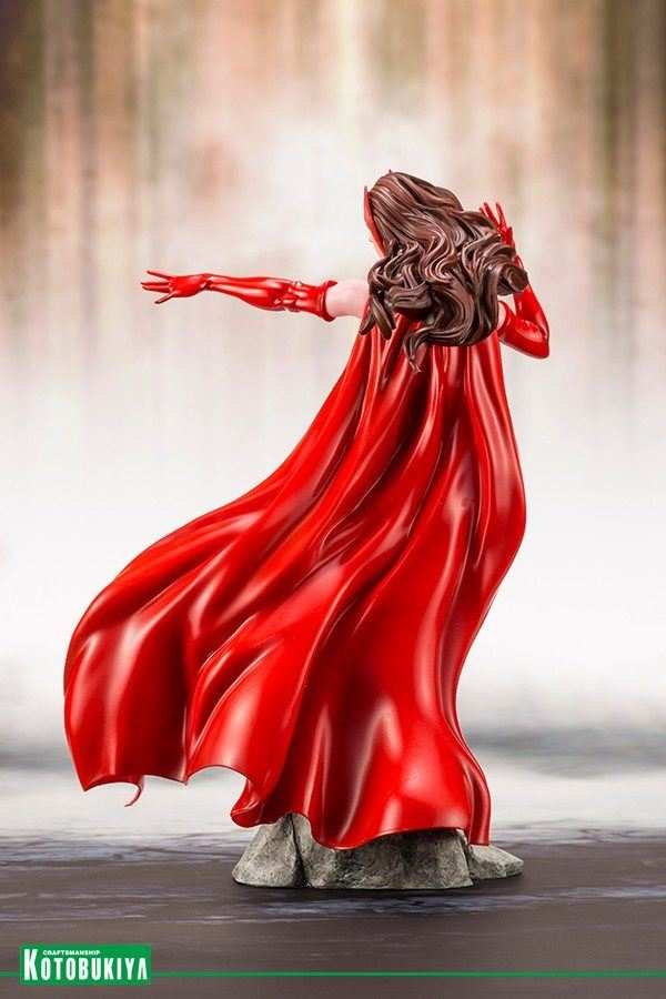 Kotobukiya Avengers Scarlet Witch Statue
