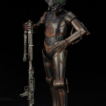 Kotobukiya Star Wars 4 Lom Statue 4