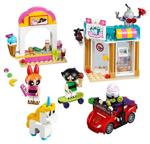 LEGO Powerpuff Girls Mojo Jojo Strikes Set
