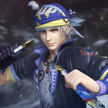 Locke Cole Dissidia Final Fantasy NT