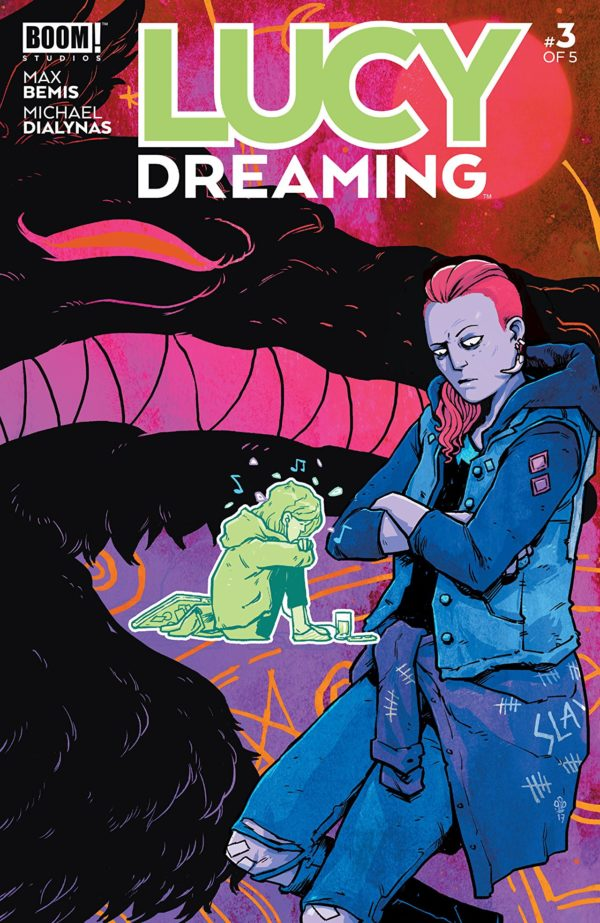 Lucy Dreaming #3 cover by Michael Dialynas