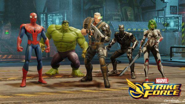 Marvel Strike Forcetelecharger gratuit sans verification humaine