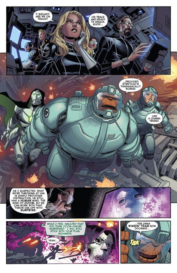 Marvel Two-in-One #6 art by Jim Cheung, Walden Wong, and Frank Martin