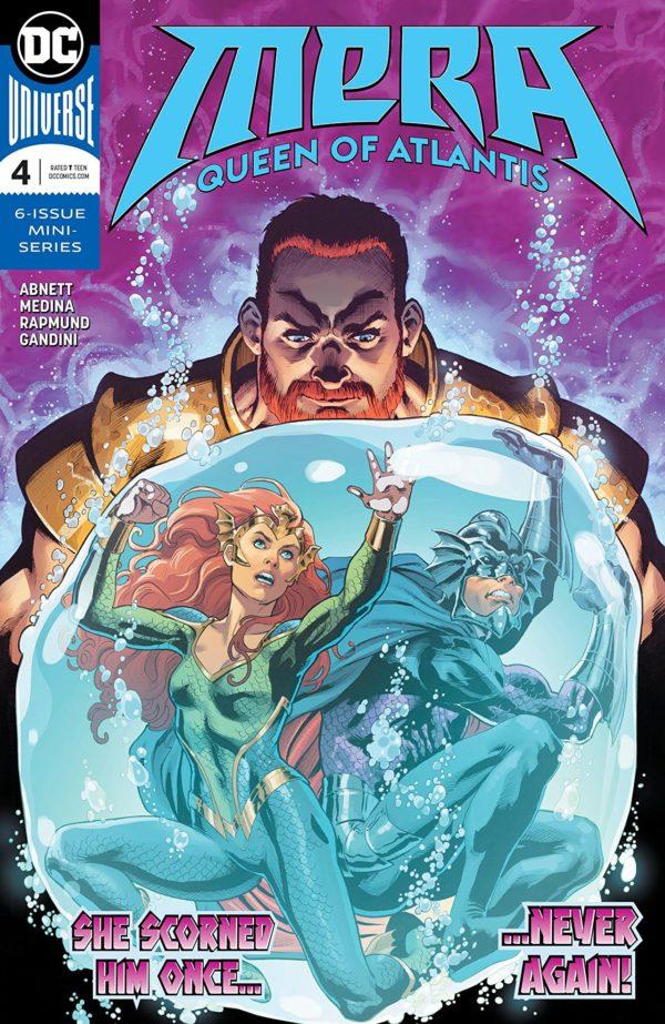 Mera: Queen of Atlantis #4 cover by Nicola Scott and Romulo Fajardo Jr.