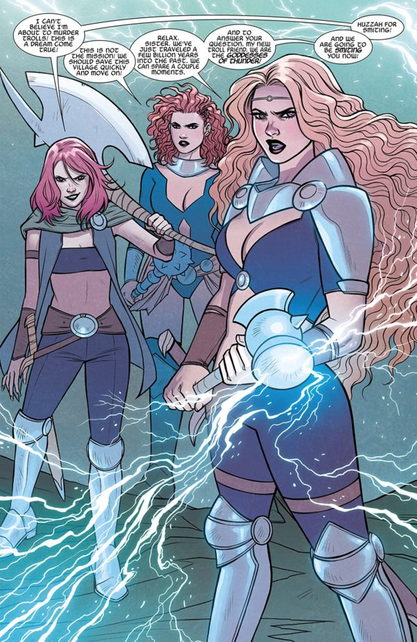 Thor: At the Gates of Valhalla #1 art by Jen Bartel and Matthew Wilson