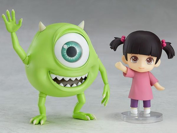 From Pixar Studios\u0027 \u201cMonsters Inc.\u201d comes a Nendoroid of Mike together in a set with Boo! The DX version comes with two different face plates\u2026 but seen his ... & Monsters Inc. Fans: Check Out the Adorable New Mike and Boo Nendoroid!